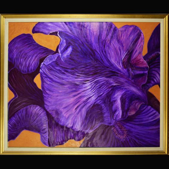 Floral Oil painting created by Carol Sakai